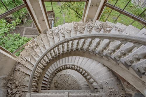 Sanatorium Stairs